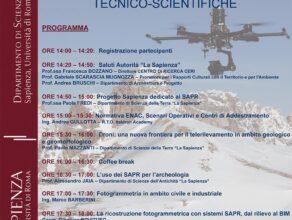 Università La Sapienza di Roma<br>Incontri sui sistemi SAPR